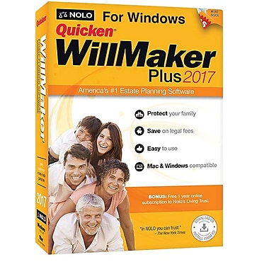 Nolo Quicken WillMaker Plus 2017 (1 User) [Download]