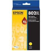 Epson 802 DURABrite Ultra Ink Cartridge, High Yield, Yellow Ink Cartridge (T802XL420)