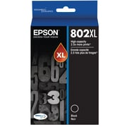 Epson 802 DURABrite Ultra Ink Cartridge, High Yield, Black Ink Cartridge (T802XL120)