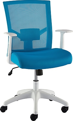 Staples Ardfield Mesh Task Chair, Blue (50837)