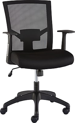 Staples Ardfield Mesh Task Chair, Black (50838)