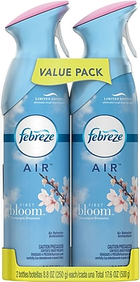 Febreze® AIR™ Freshener Spray, First Bloom, 8.8 oz., Twin Packs