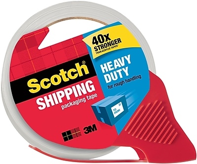 Scotch® High-Performance Sure-Start Packing Tape, Clear, 1.88