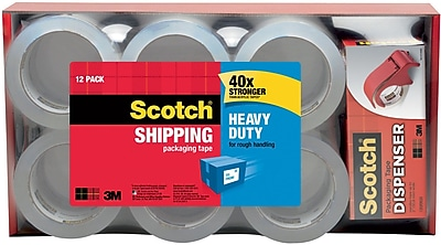 Scotch® Heavy-Duty Packing Tape, 1.88