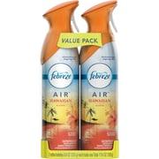 Febreze® AIR™ Freshener Spray, Hawaiian Aloha, 8.8 oz., Twin Packs