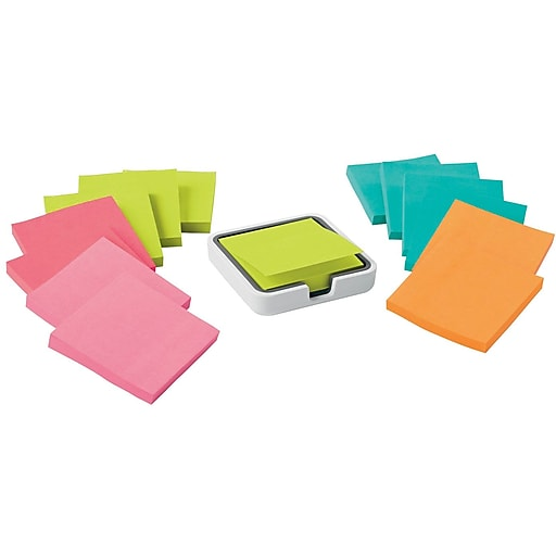 post it super sticky notes 3 x 3 miami collection 14 pads pack
