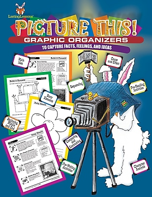 Barker Creek Picture This! Graphic Organizers, Grades 2+ (LL302)