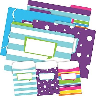 Barker Creek Happy Folder & Pocket Set, 42 Pieces Per Set (BC3542)