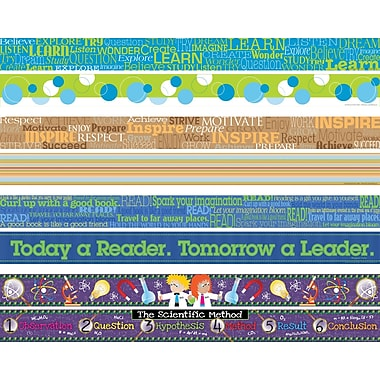 Barker Creek Inspirational Double-sided Trim, 48 pieces per set (BC908)