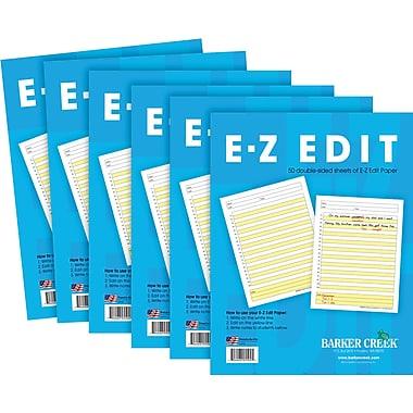 Barker Creek E-Z Edit™ Writing Paper