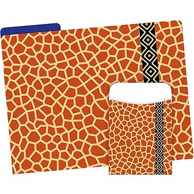 Barker Creek Giraffe Folder & Pocket Set, 42 Pieces Per Set (BC3546)