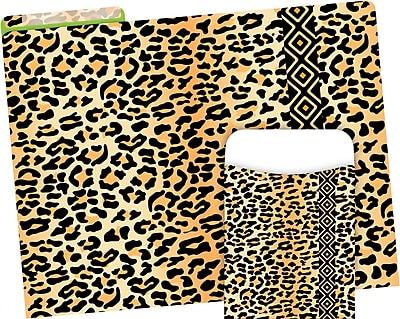 Barker Creek Leopard Folder & Pocket Set, 42 Pieces Per Set (BC3547)