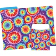Barker Creek Tie-Dye Folder & Pocket Set, 42 Pieces Per Set (BC3500)