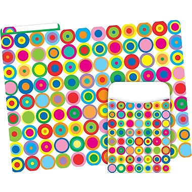 Barker Creek Disco Dots Folder & Pocket Set (BC3593)