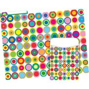 Barker Creek Disco Dots Folder & Pocket Set, 42 Pieces Per Set (BC3593)