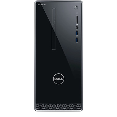 Dell Inspiron i3668-3205BLK Desktop with Mouse and Keyboard (Intel Core i3, 1TB HDD, 6GB RAM, Windows 10, Intel HD 630 Graphics)