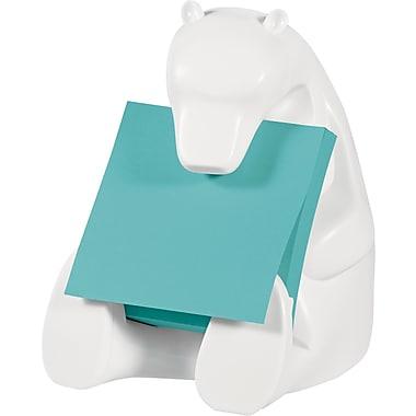 Post-it® Pop-up Note Bear Dispenser, for 3