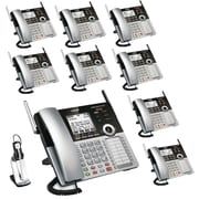 VTech 4-Line Small Business Office Phone System - Bundle with (1) CM18445 & (8) CM18245 & (1) IS6200 Headset