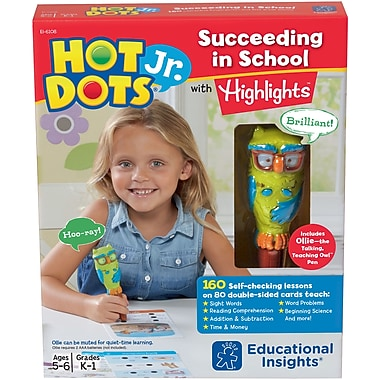 Hot Dots® Jr. Succeeding in School Set with Highlights™