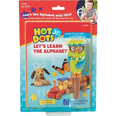 Hot Dots® Jr. Let's Learn the Alphabet Interactive Books (5 Book Set - books only)