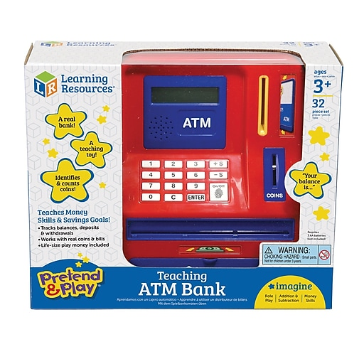 Pretend and Play® Teaching ATM Bank