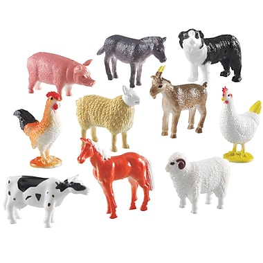 Learning Resources® 60 Piece Farm Animal Counters