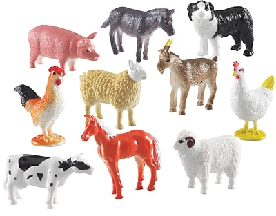 Farm Animal Counters - Set of 60