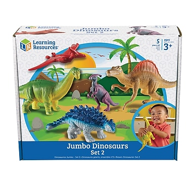 Learning Resources® 5 Jumbo Dinosaurs Set