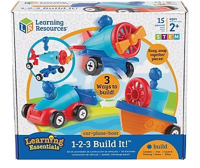 1-2-3 Build It™ Car-Plane-Boat