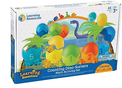Counting Dino-Sorters Math Activity Set