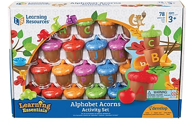Alphabet Acorns Activity Set