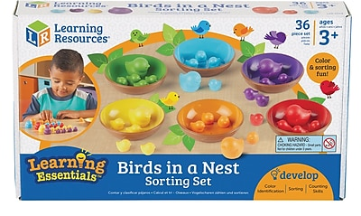 Birds in a Nest Sorting Set