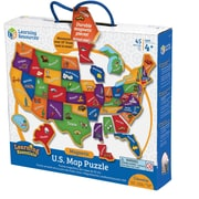 Learning Resources® Magnetic U.S. Map Puzzle
