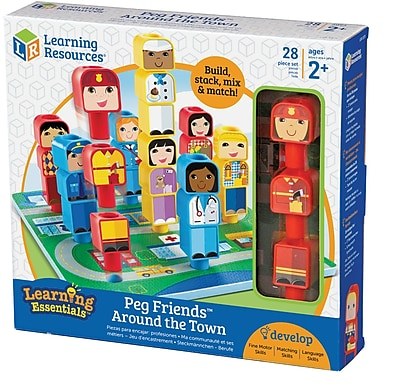 Peg Friends™ Around the Town