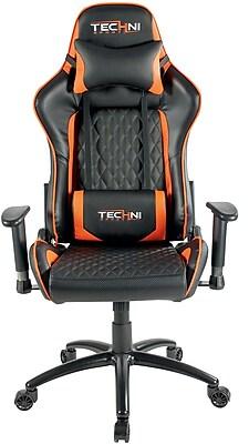 Techni Sport TS-5000 Ergonomic High Back Video Gaming Chair Orange