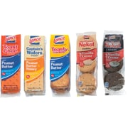 Lance Cookies & Crackers Variety Pack, 24 Packs/Box