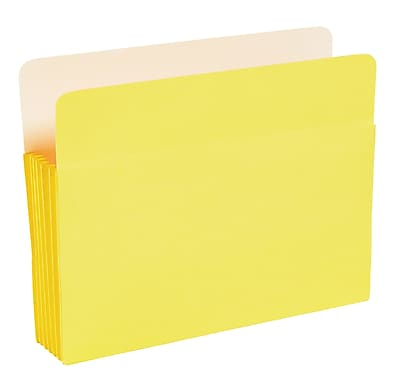 Staples® Colored File Pockets, 5 1/4