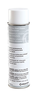 Brighton Professional Stainless Steel Cleaner and Maintainer, Fresh Lemon, 16oz (BPR50877-A)