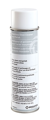 Brighton Professional™ Stainless Steel Cleaner and Polish , 15 Oz.