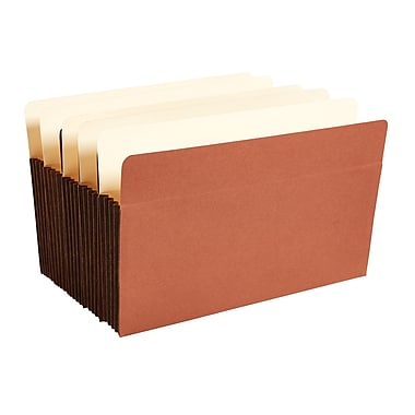Staples® Expanding File Pocket with Tyvek® Reinforcement, 3.5