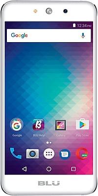 BLU Grand M G070Q Unlocked GSM Quad-Core Dual-SIM Phone - Silver
