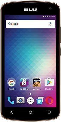 BLU Studio G2 HD S550Q Unlocked GSM Quad-Core Phone - Gold
