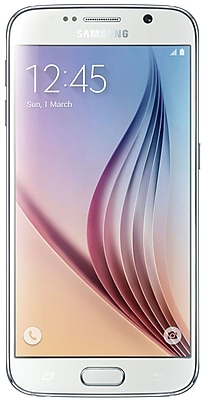 Samsung Galaxy S6 G920A 32GB AT&T Unlocked 4G LTE Octa-Core Phone w/ 16MP Camera - White