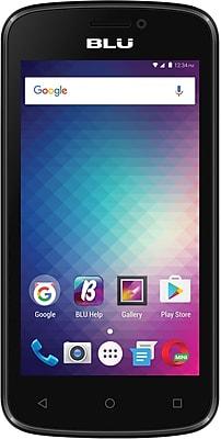 BLU Advance 4.0M Unlocked GSM Quad-Core Phone - Black