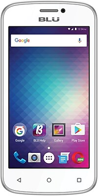 BLU Advance 4.0M Unlocked GSM Quad-Core Phone - White