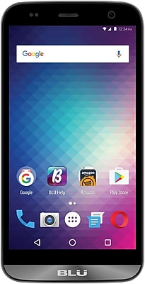 BLU Dash XL D710U Unlocked GSM Quad-Core Phone - Gray