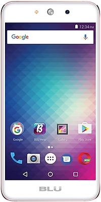BLU Grand M G070Q Unlocked GSM Quad-Core Dual-SIM Phone - Rose Gold