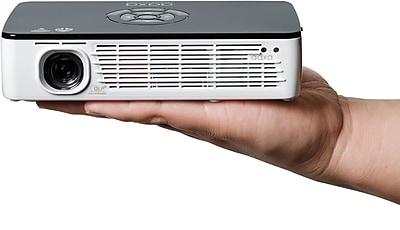 AAXA P700 Pro WXGA HD LED Pico Projector, Black/White 2657360