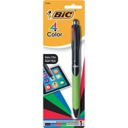 BIC 4-Color™ Stylus Pens, Green/Black