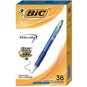 BIC Velocity® Retractable Ballpoint Pens, 36/CT